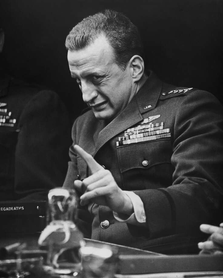 George C. Scott as General 'Buck' Turgidson. Photo: Silver Screen Collection, Getty Images