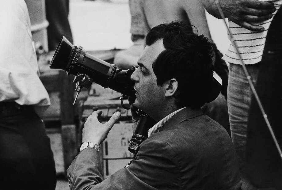 Film director Stanley Kubrick (1928 - 1999) on the set of 'Dr. Strangelove or: How I Learned to Stop Worrying and Love the Bomb', 1963. Photo: Archive Photos, Getty Images
