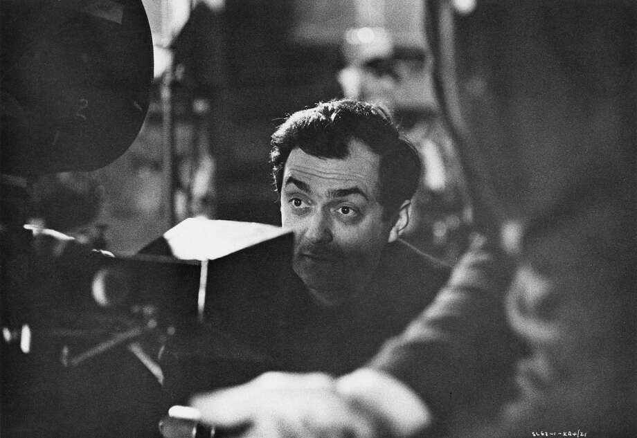 American director and screenwriter Stanley Kubrick (1928 - 1999) on the set of his film 'Dr. Strangelove or: How I Learned to Stop Worrying and Love the Bomb' at Shepperton Studios, UK, 1963. Photo: Getty Images