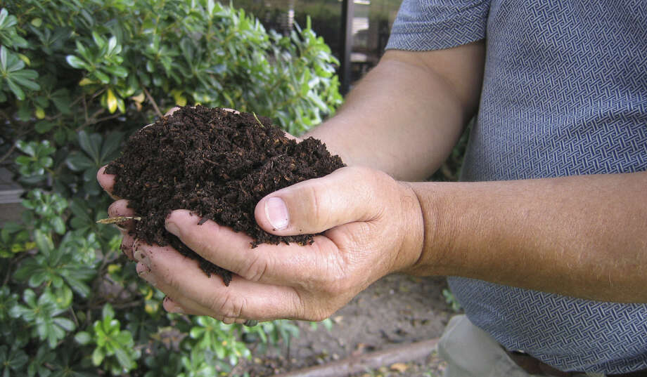 February is a good time to aerate and top dress your lawn. Top dress with a half of an inch of compost. A cubic yard of the material will cover 648 square feet of lawn. Photo: File Photo / SAN ANTONIO EXPRESS NEWS