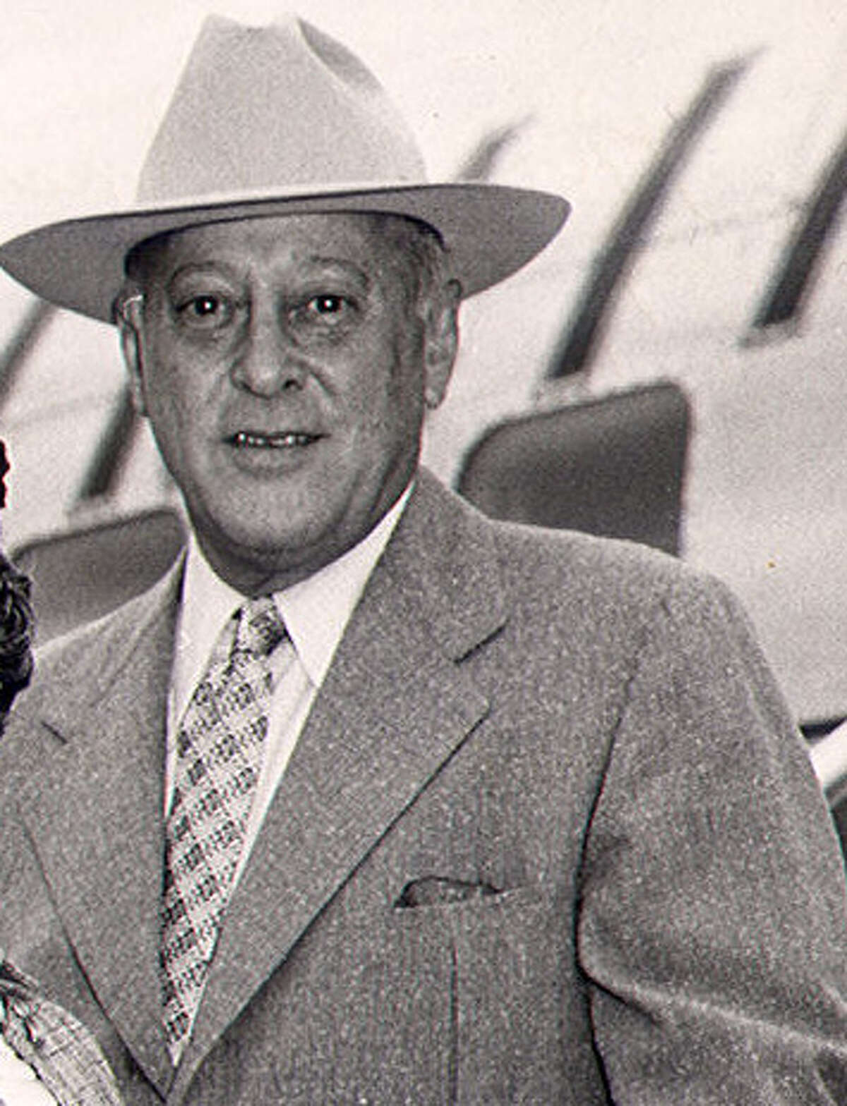 Joe Straus Sr., circa 1954, owned No Le Hace, which finished second to Riva Ridge in the '72 Kentucky Derby.