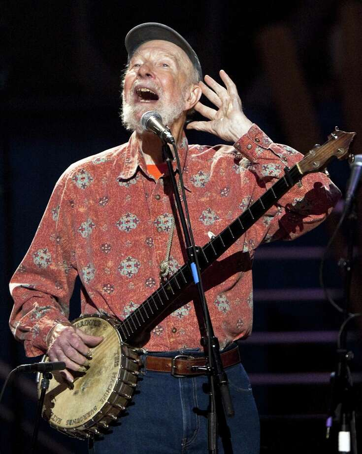 Pete Seeger led a folk revival and spent a life championing folk music as a catalyst for action. Photo: New York Times / NYTNS