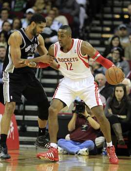 Jan. 28: Rockets 97, Spurs 90  Houston recovered from its two-game losing skid by defeating San Antonio for the third time this season.  Record: 30-17 Photo: Karen Warren, Houston Chronicle