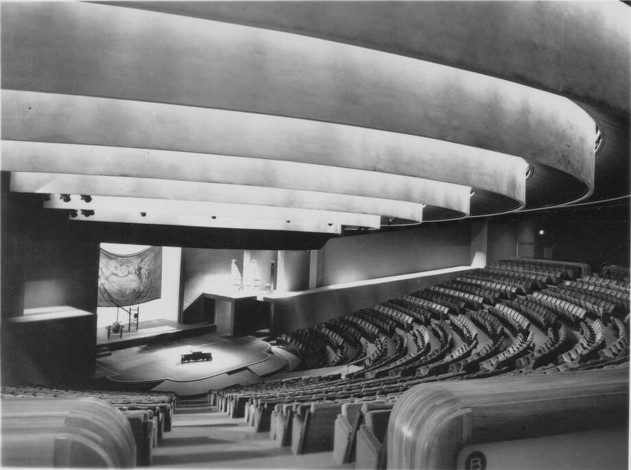 """Nina Vance was teaching drama in 1947 when she decided Houston needed a new theater. She sent out 214 penny postcards - from the change she had in her purse - to influential friends. The Alley Theatre was the result."" 