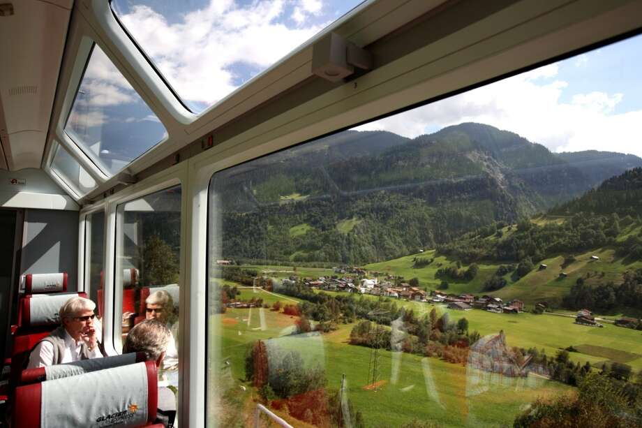 Picture-perfect Alpine scenes scroll before passengers on the Glacier Express, one of the most famous railways in the world. Photo: Bruce Yuanyue Bi, Getty Images/Lonely Planet Images