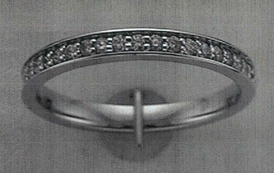 Missing Garden Ridge woman Leanne Hecht Bearden was wearing this ring when last seen on Fri., Jan 17, 2014. Photo: Courtesy / courtesy of the bearden family