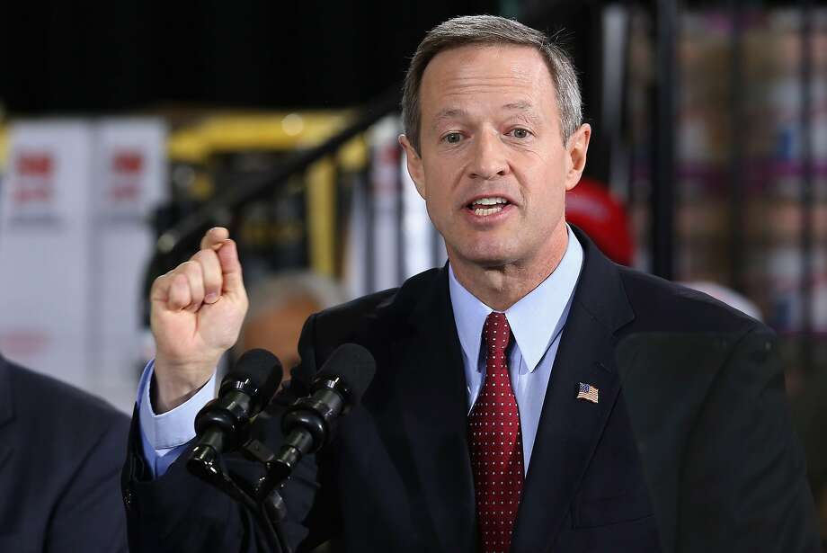 Maryland Gov. Martin O'Malley has made repeated visits to New Hampshire, Iowa and other early-voting states as he ponders a run for president in 2016. Photo: Chip Somodevilla, Getty Images