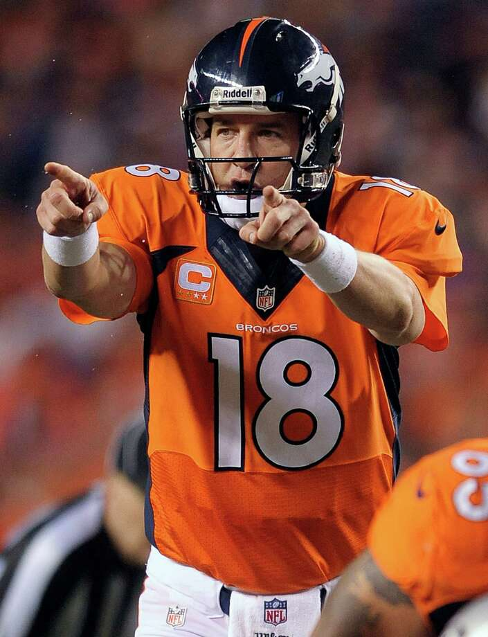 It doesn't take much guesswork to determine the reason behind Denver's ascent - Peyton Manning. Photo: Jack Dempsey, FRE / FR42408 AP