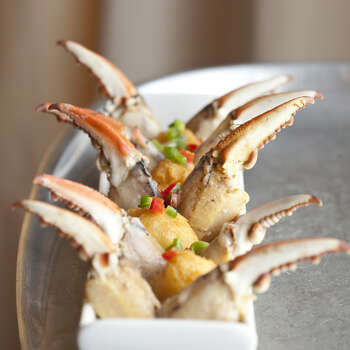 For Valentine's 2014, crab fingers is one of the featured items on a Feb. 14 menu at Americas. Photo: Julie Soefer / ONLINE_YES