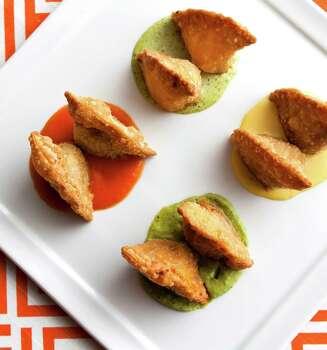 Empanadas at Churrascos Photo: Julie Soefer / ONLINE_YES