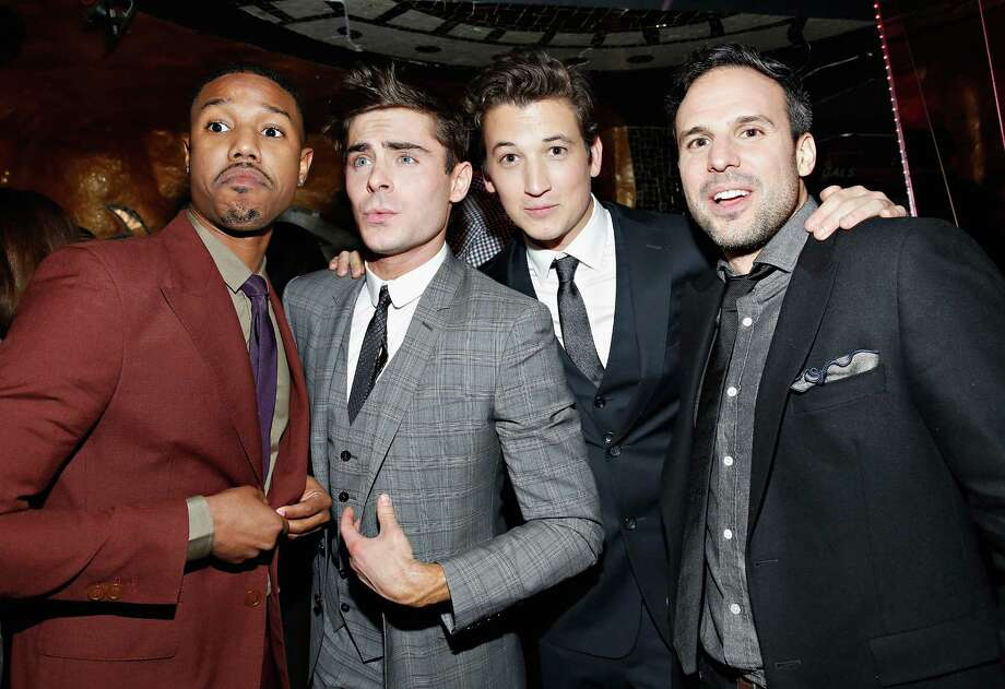 "NEW YORK, NY - JANUARY 22:  Actors Michael B. Jordan, Zac Efron, Miles Teller and director Tom Gormican attend the ""That Awkward Moment"" screening after party at Maison O on January 22, 2014 in New York City.  (Photo by Cindy Ord/Getty Images) Photo: Cindy Ord, Stringer / 2014 Getty Images"