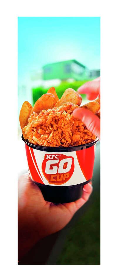 KFC Extra Crispy Boneless in a Go Cup Photo: --