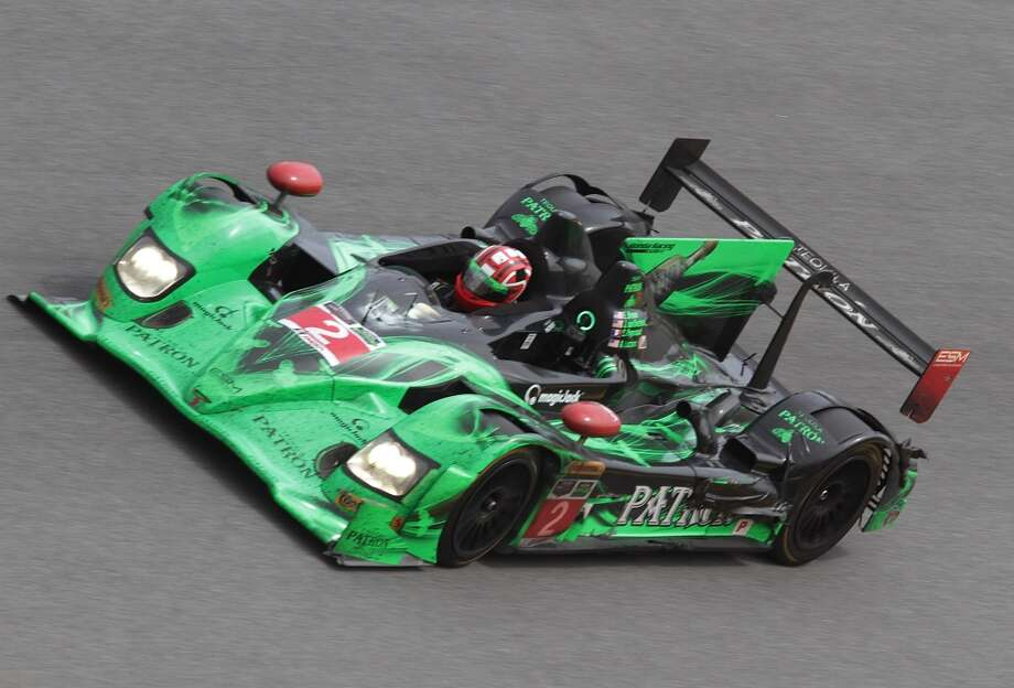The #2 Extreme Speed Motorsports HPD ARX-03b driven by Ed Brown, Johannes van Overbeek, Simon Pagenaud and Anthony Lazzaro races during the ROLEX 24 at Daytona International Speedway in Daytona Beach, Florida. Photo: Jerry Markland, Getty Images
