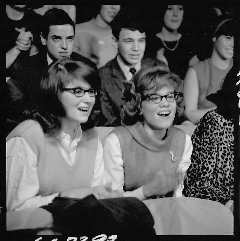 "The audience reaction to the Beatles performing on ""The Ed Sullivan Show"" is now legendary...for all the screaming. Photo: CBS Photo Archive, Getty Images / 1964 CBS WORLDWIDE INC."