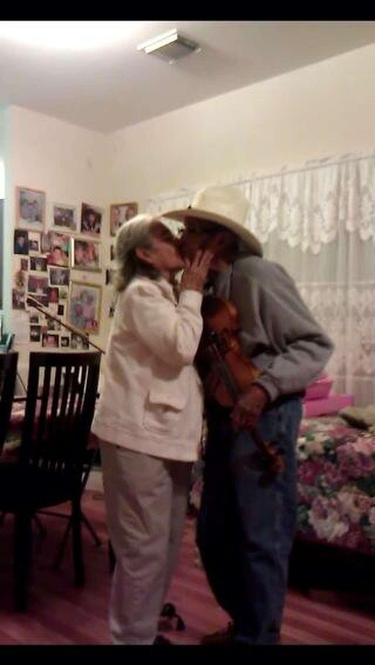 Cruz and his wife Emilia (Courtesy of Cruz Family)