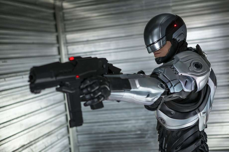 "Joel Kinnaman stars as Detective Alex Murphy in the remake of ""RoboCop."" Photo: Kerry Hayes, Sony Pictures"