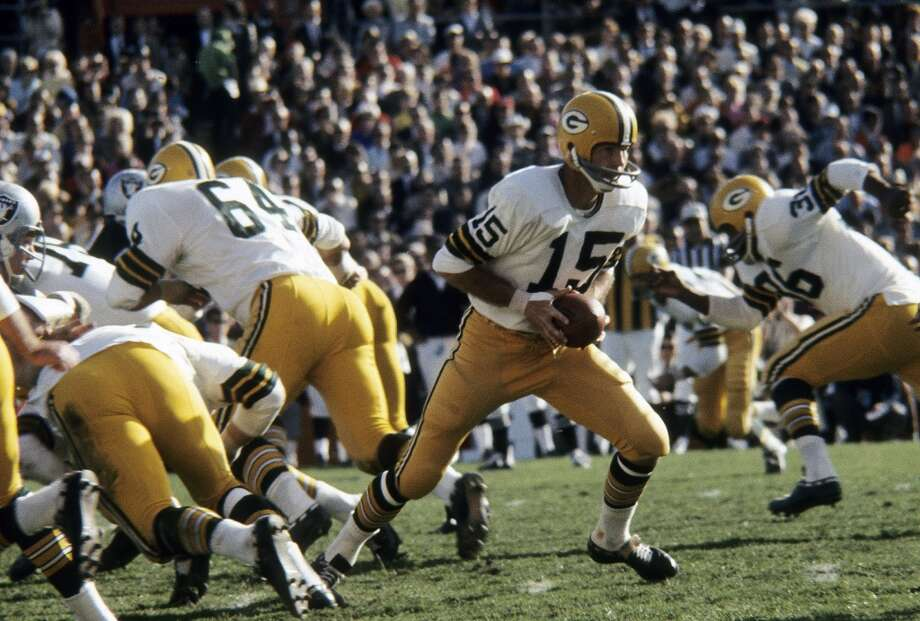 Super Bowl II Green Bay Packers 33, Oakland Raiders 14 Jan. 14, 1968  MVP — Bart Starr, QB, Green Bay Packers  Stats: 202 passing yards, 1 touchdown Photo: Focus On Sport, Getty Images