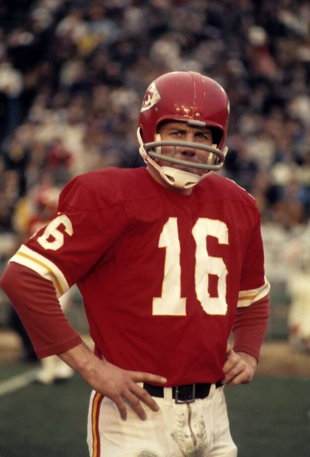 Super Bowl IV Kansas City Chiefs 23, Minnesota Vikings 7 Jan. 11, 1970  MVP — Len Dawson, QB, Kansas City Chiefs  Stats: 142 passing yards, 1 touchdown, 1 interception Photo: Tony Tomsic, Getty Images
