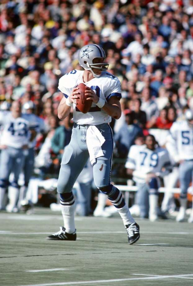 Super Bowl VI Dallas Cowboys 24, Miami Dolphins 3 Jan. 16, 1972  MVP — Roger Staubach, QB, Dallas Cowboys    Stats: 119 passing yards, 2 touchdowns Photo: Focus On Sport, Getty Images