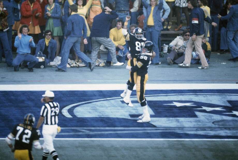 Super Bowl X Pittsburgh Steelers 21, Dallas Cowboys 17 Jan. 18, 1976  MVP — Lynn Swann, WR, Pittsburgh Steelers  Stats: 4 receptions, 161 yards, 1 touchdown Photo: Focus On Sport, Getty Images