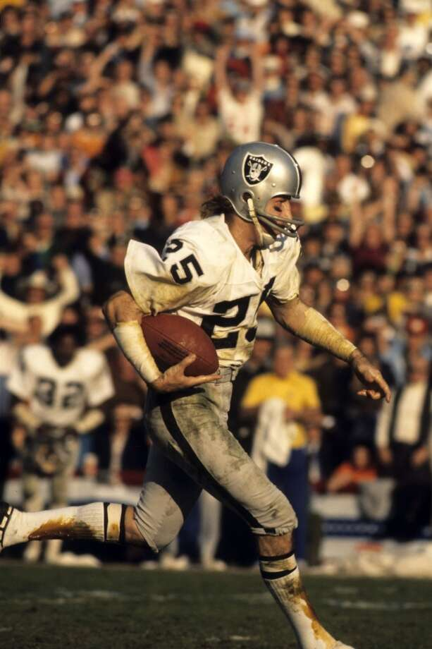 Super Bowl XI Oakland Raiders 32, Minnesota Vikings 14 Jan. 9, 1977  MVP — Fred Biletnikoff, WR, Oakland Raiders   Stats: 4 receptions, 79 yards Photo: Tony Tomsic, Getty Images