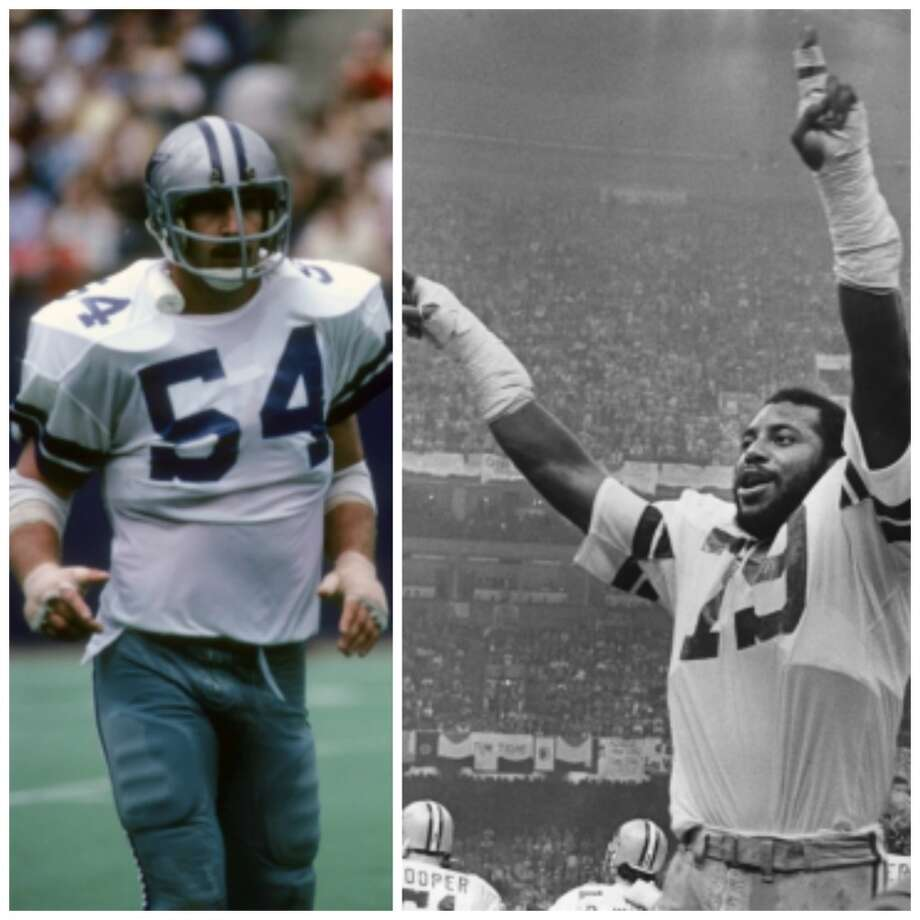 Super Bowl XII Dallas Cowboys 27, Denver Broncos 10 Jan. 15, 1978  MVPs —  Randy White, DT, and Harvey Martin, DE,  Dallas Cowboys  Stats: The defensive linemen combined for three sacks. Photo: Focus On Sport/Getty Images, (Fort Worth Star-Telegram/Associated Press)