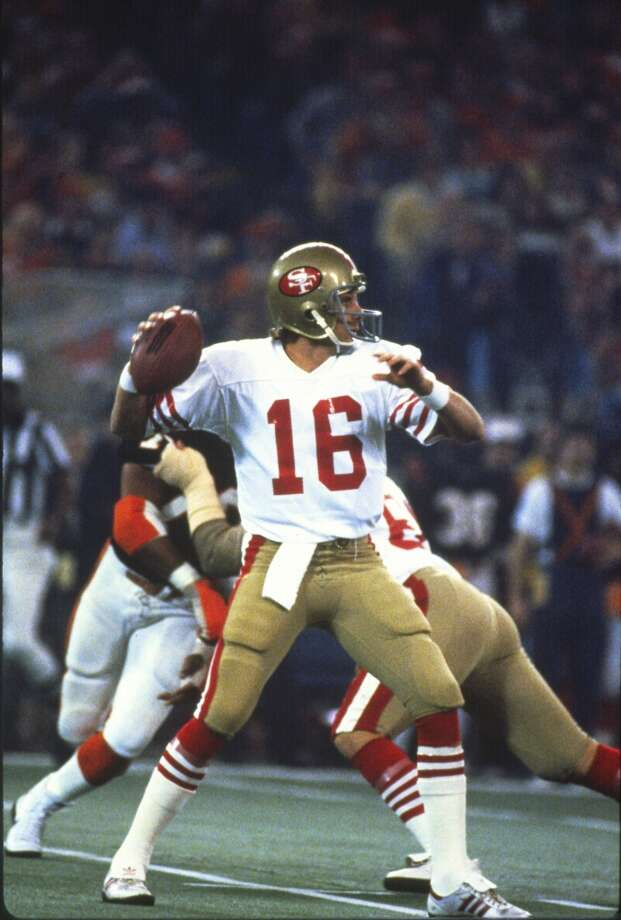Super Bowl XVI San Francisco 49ers 26, Cincinnati Bengals 21 Jan. 24, 1982  MVP — Joe Montana, QB, San Francisco 49ers  Stats: 157 passing yards, 1 touchdown, 6 carries - 18 yards, 1 touchdown Photo: Focus On Sport, Getty Images