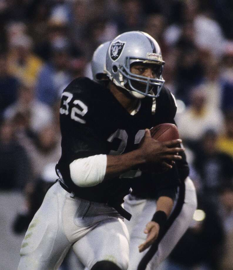 Super Bowl XVIII Los Angeles Raiders 38, Washington Redskins 9 Jan. 22, 1984  MVP — Marcus Allen, RB, Los Angeles Raiders  Stats: 20 carries, 191 rushing yards, 2 touchdowns Photo: Ronald C. Modra, Getty Images/Sports Imagery