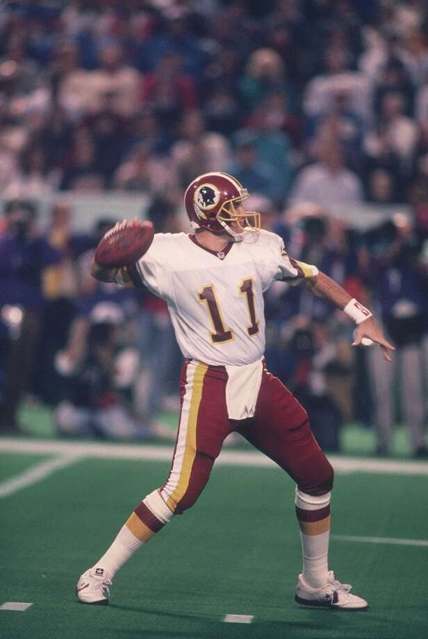 Super Bowl XXVI Washington Redskins 37, Buffalo Bills 24 Jan. 26, 1992  MVP — Mark Rypien, QB, Washington Redskins  Stats: 292 passing yards, 2 touchdowns, 1 interception Photo: Focus On Sport, Getty Images