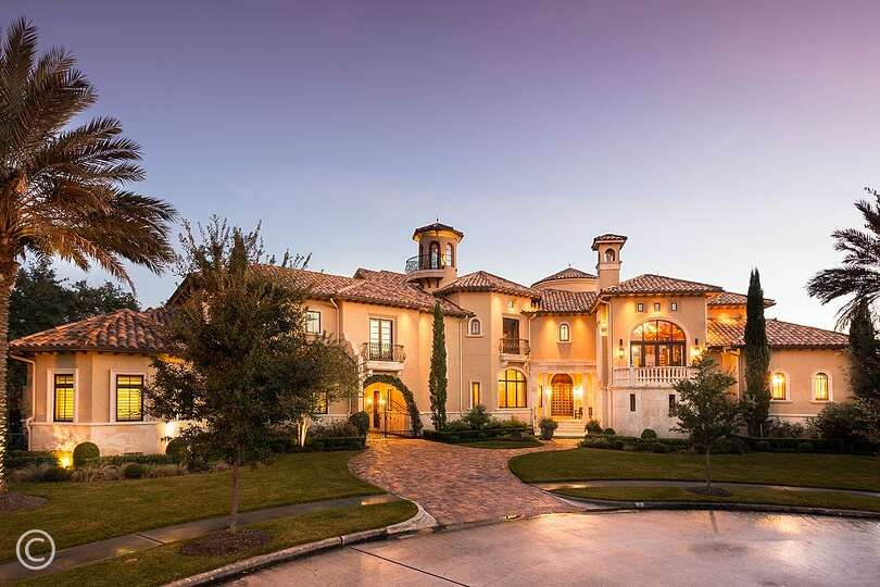 7 grand manor this 2009 mediterranean mansion has 5 for Luxury dream homes for sale