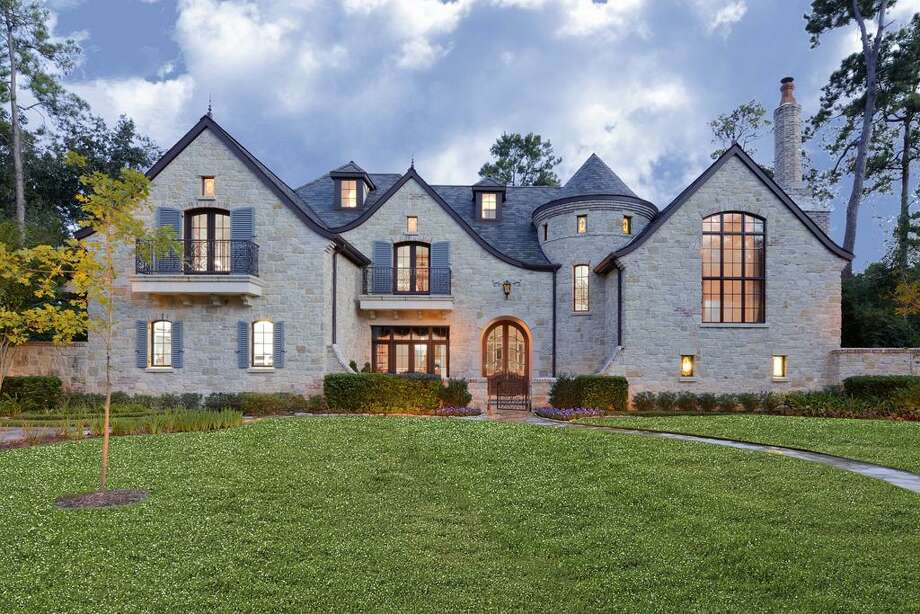 10923 Kirwick: This 2010 manor has 5 bedrooms, 5 full and 3 half bathrooms, 9,597 square feet, and features a gourmet kitchen, stone wine cellar, wood-paneled gameroom, movie theater, outdoor entertaining area, backyard fire pit, and private pool. Listed for $6,950,000. Photo: Houston Association Of Realtors