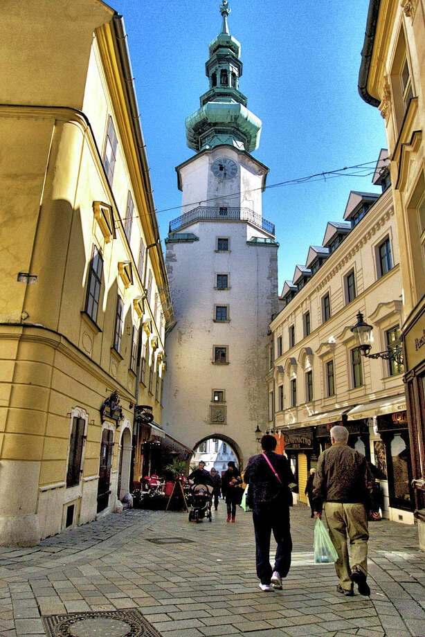 In 1919, after the newly created Czechoslovakia gained independence, Slovaks renamed their capital Bratislava -- an appellation Slovak nationalists had adopted earlier. Bratislava is now the capital of Slovakia. Photo: John Flinn, Special To The Chronicle / ONLINE_YES
