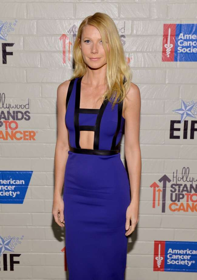 Actress Gwyneth Paltrow attends Hollywood Stands Up To Cancer Event with contributors American Cancer Society and Bristol Myers Squibb hosted by Jim Toth and Reese Witherspoon and the Entertainment Industry Foundation on Tuesday, January 28, 2014 in Culver City, California. Photo: Michael Buckner, Getty Images For Entertainment Industry Foundation