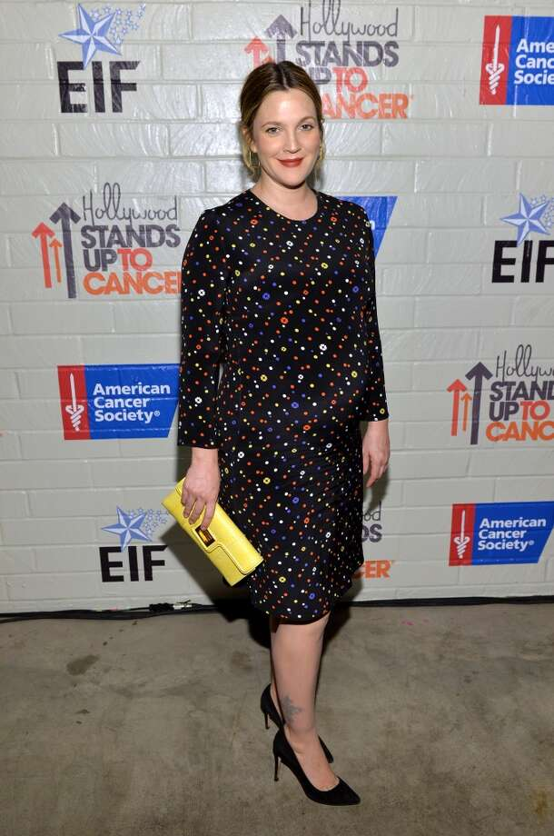 Actress Drew Barrymore attends Hollywood Stands Up To Cancer Event with contributors American Cancer Society and Bristol Myers Squibb hosted by Jim Toth and Reese Witherspoon and the Entertainment Industry Foundation on Tuesday, January 28, 2014 in Culver City, California. Photo: Michael Buckner, Getty Images For Entertainment Industry Foundation