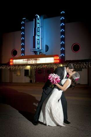 "Reader Daniel Miller said he loved getting married at Gallery M Squared, 339 W 19th Street, Houston. ""It was a pretty awesome venue."" (Submitted by Daniel Miller)"