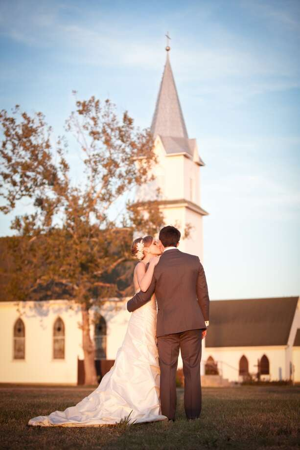 "Trinity Lutheran Church of Frelsburg2309 FM 1291, New Ulm, Texas979-732-3987Reader Amy Vercher submitted this photo from her wedding: ""My husband's grandparents were married in New Ulm, Texas, about an hour west of Houston and we decided to get married in the same little country chapel this past November (11/29/13). The church is the Trinity Lutheran Church of Frelsburg and is a historical landmark of Texas. """