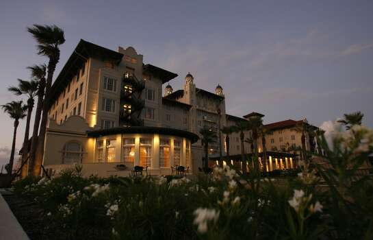 Hotel Galvez, 2024 Seawall Blvd., Galveston.