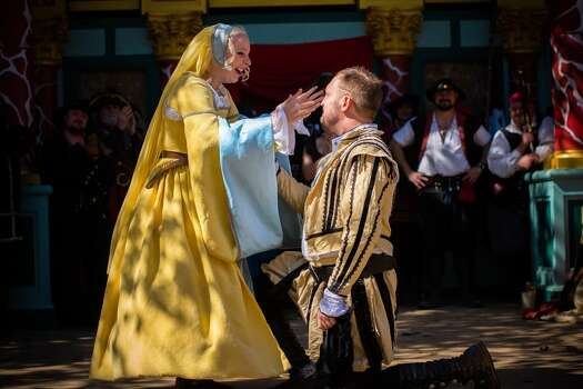 If you'd prefer to get married in costume and speak in a strange accent, you can get married at the Texas Renaissance Festival in Plantersville. Photo: Steven David