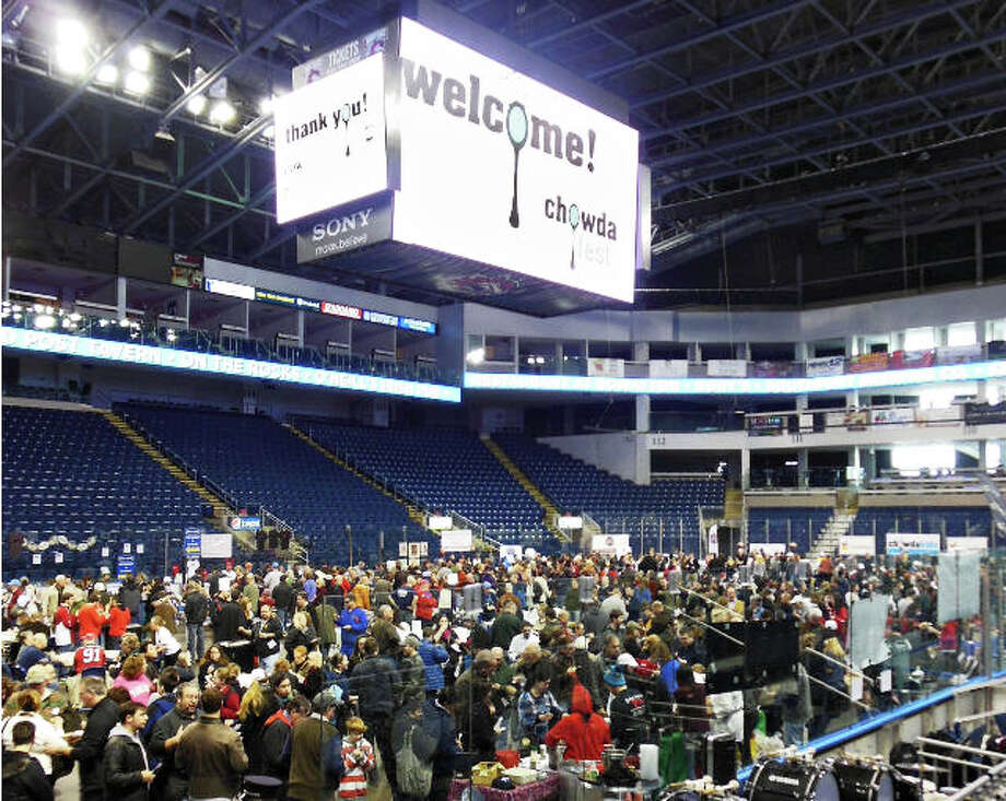 The 6th annual Chowdafest will take place Sunday at the Webster Bank Arena in Bridgeport. Photo: Contributed Photo / Westport News contributed
