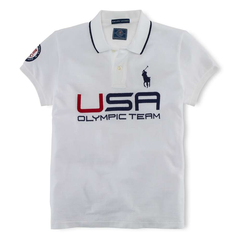 Ralph Lauren's Team USA polo ($145) Photo: PETER MERETSKY/TAT, Ralph Lauren