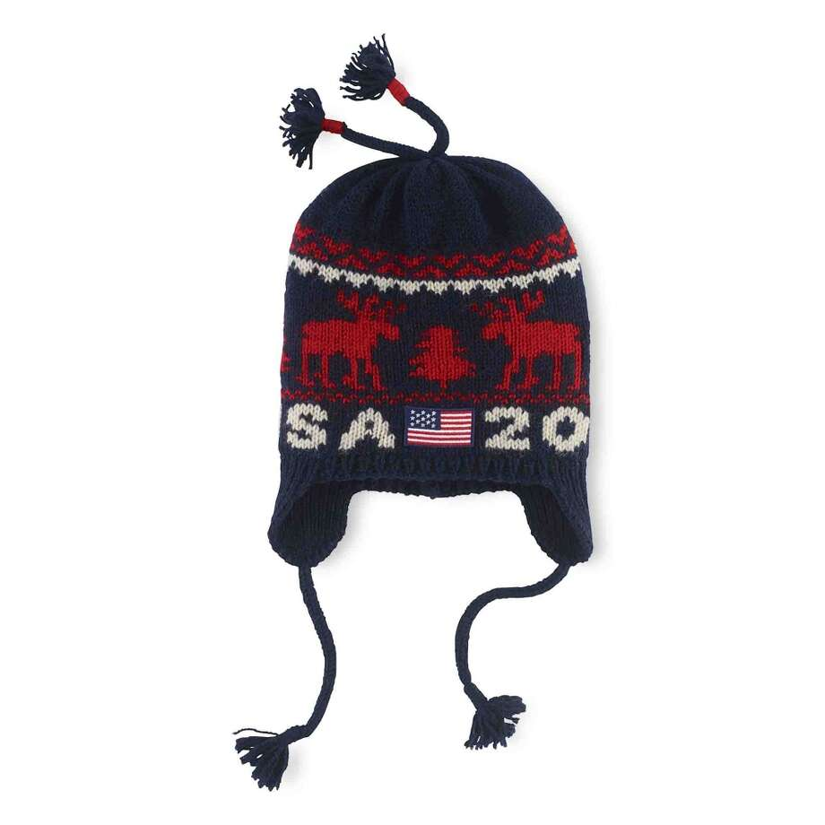 Ralph Lauren's Team USA reindeer hat ($95) Photo: ANDREW DE FRANCESCO/VANESSA MORA, Ralph Lauren