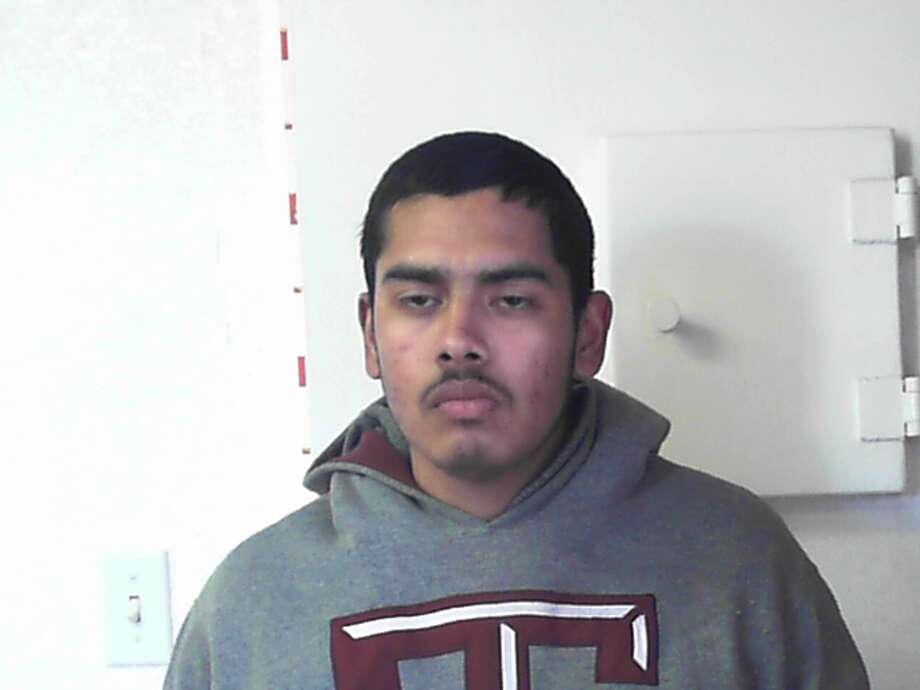 Omar Gutierrez, 19, is charged with theft of a vehicle. He admitted to Kimble County deputies that he stole a hearse that was left running outside a church during a funeral service in Northwest San Antonio. Photo: Courtesy Photo/Kimble County Jail