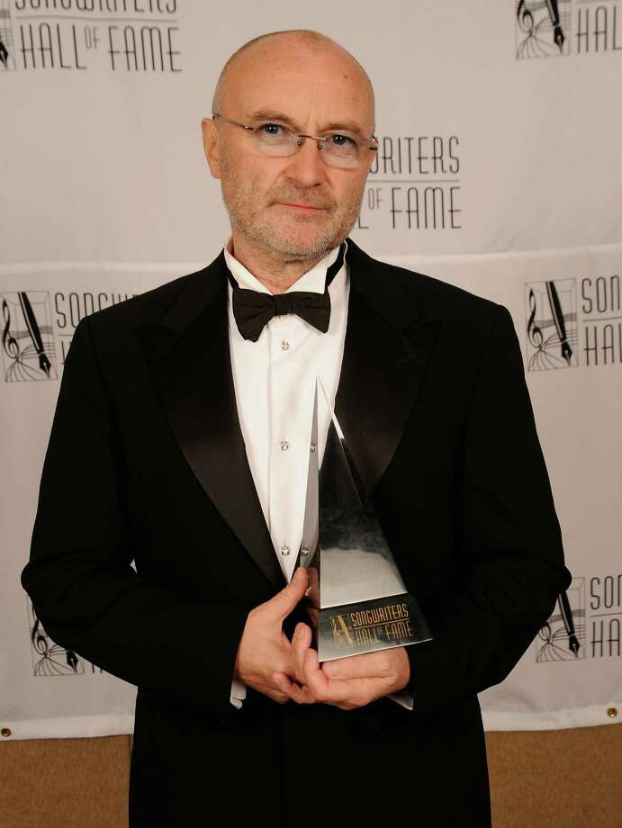 NEW YORK - JUNE 17:  Honoree Phil Collins attends the 41st Annual Songwriters Hall of Fame Ceremony at The New York Marriott Marquis on June 17, 2010 in New York City.  (Photo by Gary Gershoff/Getty Images for Songwriter's Hall of Fame) Photo: Gary Gershoff / 2010 Getty Images