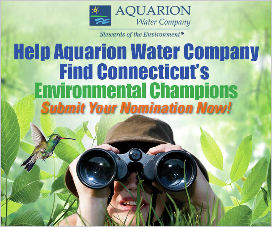 Aquarion Water is looking for candidates for its fourth-annual Environmental Champion Awards. Photo: Contributed Photo / Stamford Advocate Contributed