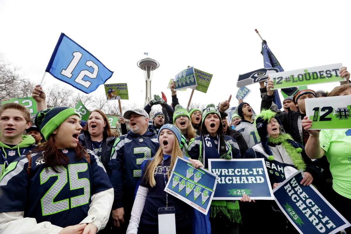 Seahawks fans are beyond excited to watch their team in Super Bowl XLVIII this Sunday. In fact, many members of Seattle's 12th Man have made their own songs and music videos to celebrate the Super Hawks. Here's a collection of some of the best hype videos made by Seahawks fans in anticipation of the big game.