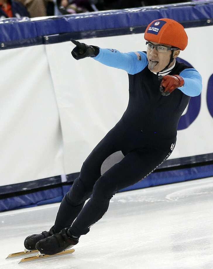 J.R. Celski won two bronze medals at the Vancouver Olympics in 2010. Photo: Rick Bowmer, Associated Press