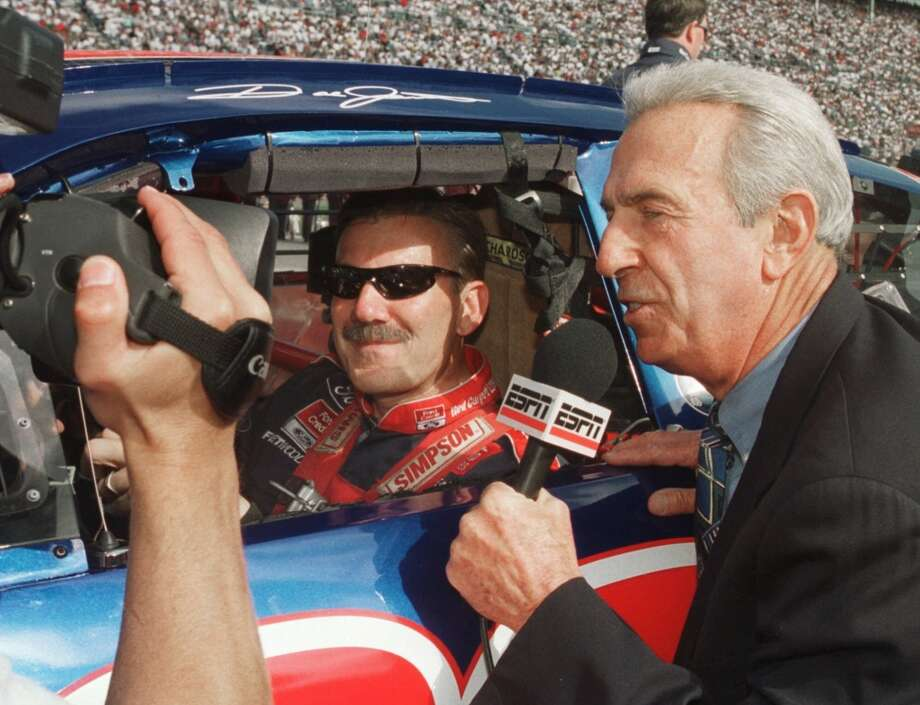 Ned Jarrett (right)  Class of 2011  The two-time Cup champion became one of NASCAR's most beloved broadcasters. Photo: Ric Feld, Associated Press