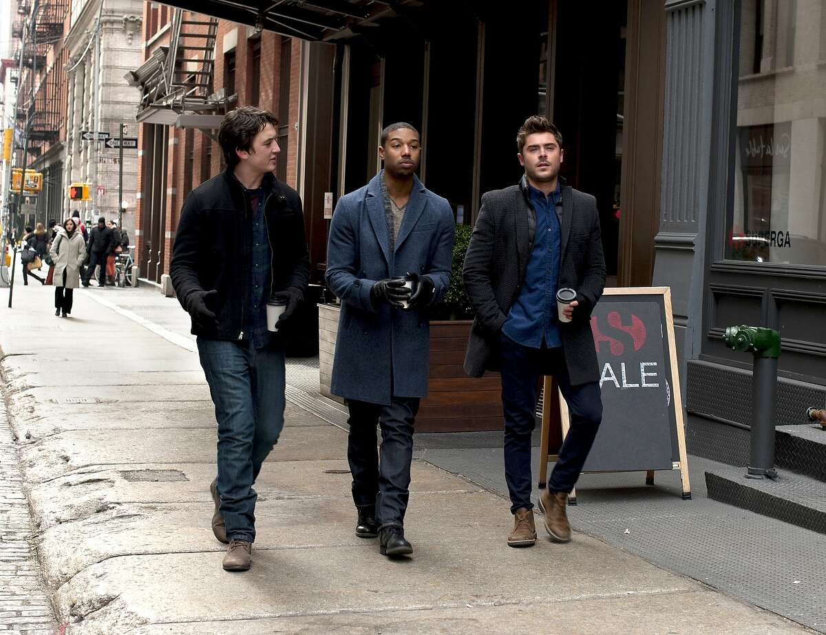 Miles Teller, Michael B. Jordan and Zac Efron star in Focus Features?• THAT AWKWARD MOMENT.