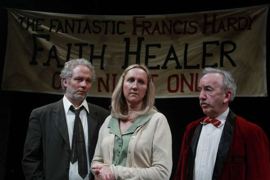 "In Brian Friel's play, monologues by a faith healer, his wife and his manager present different perspectives on the healer's life and the authenticity of his gift. Plays in rotating repertory with ""The Good Thief,"" Conor McPherson's one-man work about a crook seeking redemption. Stark Naked Theatre at Spring Street Studios, 1824 Spring; $20; 832-866-6514, starknakedtheatre.com Photo: Gary Fountain, Freelance / Copyright 2014 Gary Fountain."