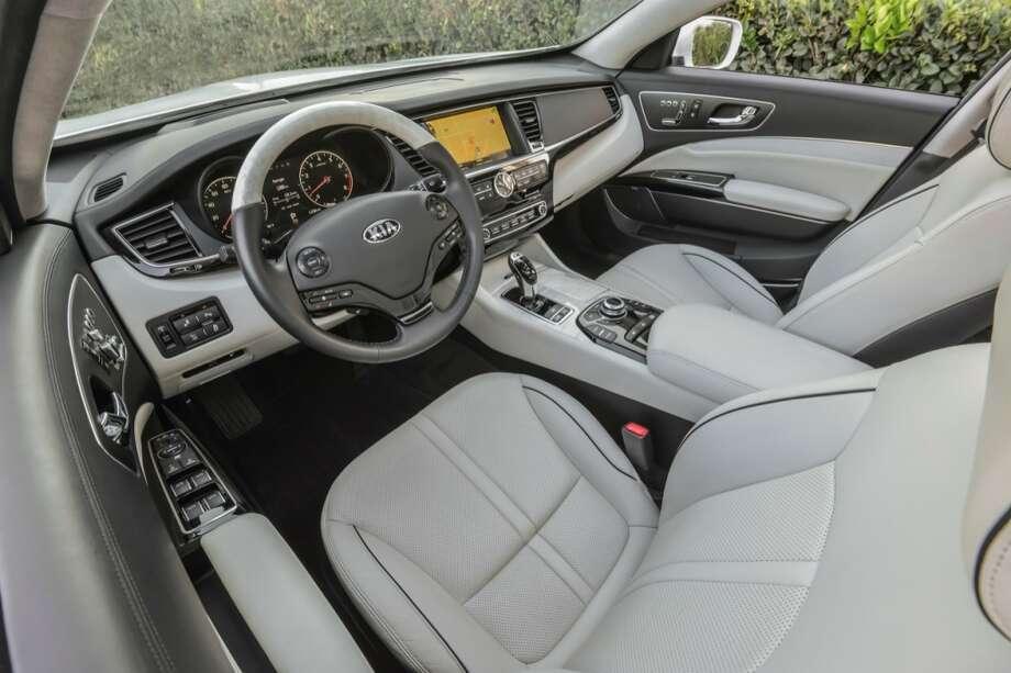 7. 2015 Kia K900MSRP: Starting at $59,500Source: AutoTrader Photo: Kia Motors